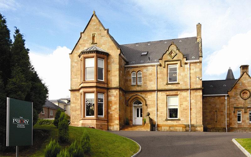 Priory Hospital Glasgow Addiction Mental Health Treatment In