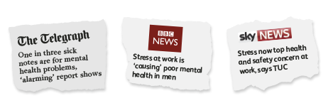 News clippings - Mental Health
